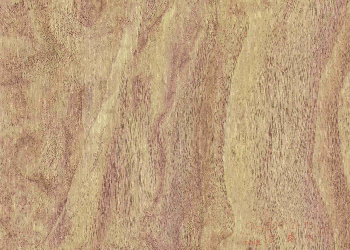 Floor Covering Wood Grain Adhesive Vinyl Wood Effect PVC decorative Film